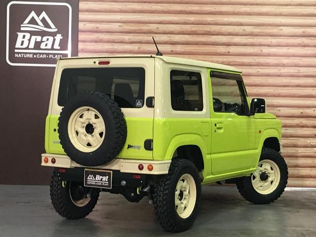 XL DAMD JIMNY the ROOTS3点セット(グリル 前後バンパー)ツートン塗装 新品1インチリフトUP 新品オープンカントリーM/T-R5本組 SDナビ フルセグ 前席シートヒーター(3枚目)