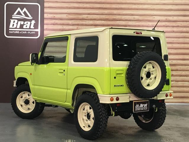 XL DAMD JIMNY the ROOTS3点セット(グリル 前後バンパー)ツートン塗装 新品1インチリフトUP 新品オープンカントリーM/T-R5本組 SDナビ フルセグ 前席シートヒーター(14枚目)
