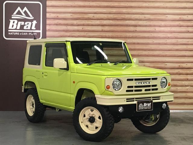 XL DAMD JIMNY the ROOTS3点セット(グリル 前後バンパー)ツートン塗装 新品1インチリフトUP 新品オープンカントリーM/T-R5本組 SDナビ フルセグ 前席シートヒーター(18枚目)
