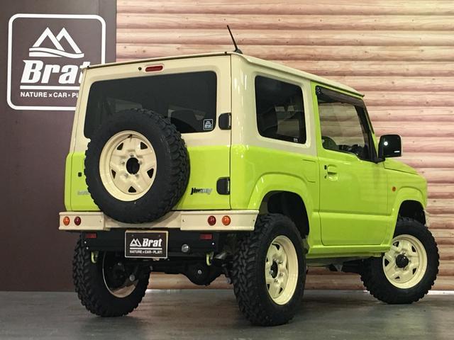 XL DAMD JIMNY the ROOTS3点セット(グリル 前後バンパー)ツートン塗装 新品1インチリフトUP 新品オープンカントリーM/T-R5本組 SDナビ フルセグ 前席シートヒーター(39枚目)
