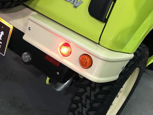 XL DAMD JIMNY the ROOTS3点セット(グリル 前後バンパー)ツートン塗装 新品1インチリフトUP 新品オープンカントリーM/T-R5本組 SDナビ フルセグ 前席シートヒーター(40枚目)