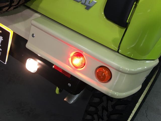 XL DAMD JIMNY the ROOTS3点セット(グリル 前後バンパー)ツートン塗装 新品1インチリフトUP 新品オープンカントリーM/T-R5本組 SDナビ フルセグ 前席シートヒーター(41枚目)