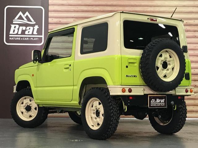XL DAMD JIMNY the ROOTS3点セット(グリル 前後バンパー)ツートン塗装 新品1インチリフトUP 新品オープンカントリーM/T-R5本組 SDナビ フルセグ 前席シートヒーター(45枚目)