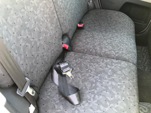 車内の状態も綺麗です。