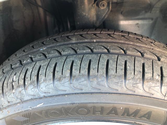 タイヤの溝もばっちりです。