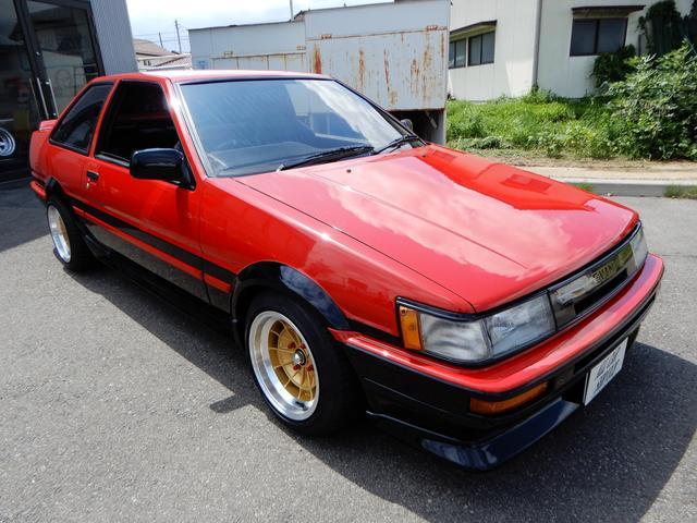 「トヨタ」「カローラレビン」「クーペ」「福島県」の中古車4