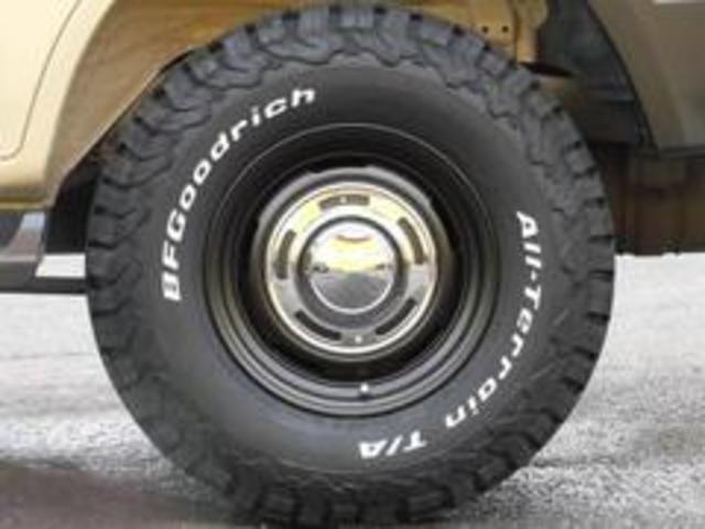 TX-LTDディーゼルターボ新品DEANAW新品BFタイヤ(4枚目)