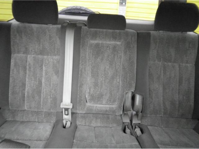 VX5速マニュアル ディーゼルターボ フルオリジナルホワイト 背面タイヤ付 タイミングベルト交換済 ブラックホイル(21枚目)