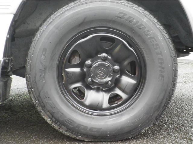 VX5速マニュアル ディーゼルターボ フルオリジナルホワイト 背面タイヤ付 タイミングベルト交換済 ブラックホイル(35枚目)