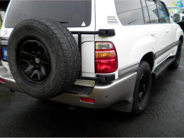 VX5速マニュアル ディーゼルターボ フルオリジナルホワイト 背面タイヤ付 タイミングベルト交換済 ブラックホイル(42枚目)
