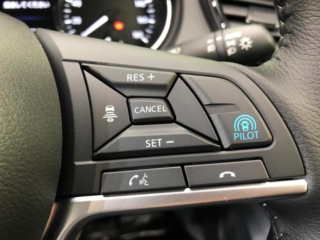 【プロパイロット】高速道路での、単調な渋滞走行と長時間の巡航走行時にプロパイロットは、この2つのシーンで、ドライバーに代わってアクセル、ブレーキ、ステアリングを自動で制御するシステムです♪