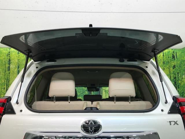 TX Lパッケージ 4WD 純正9型ナビ 7人乗 セーフティセンス ベンチレーター パワーシート オートハイビーム LEDヘッド バックカメラ スマートキー プッシュスタート 純正17AW ビルトインETC 禁煙車(25枚目)