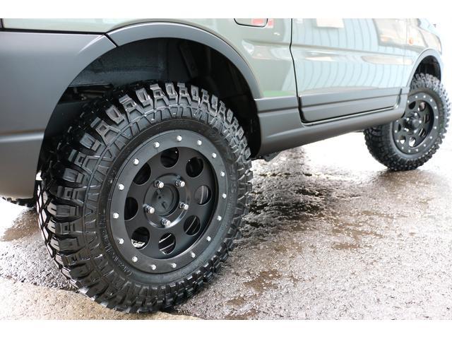 ランドベンチャー4WD新品2インチアップ新品タイヤラプターP(15枚目)
