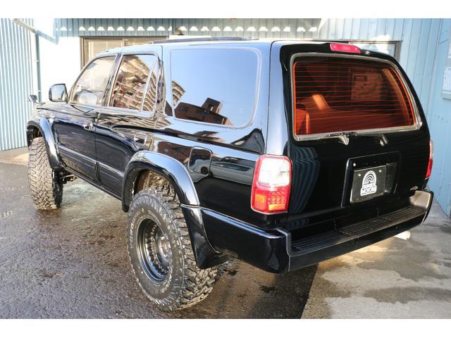 SSR-X ワイド リフトアップ 新品クリスタルヘッドライト 新品ウインカー 新品TOYOTAグリル マッドブラックペイントホイール 新品タイヤ 外装ポリマーコーティング施工 足廻り油性シャーシコート 西日本仕入(4枚目)