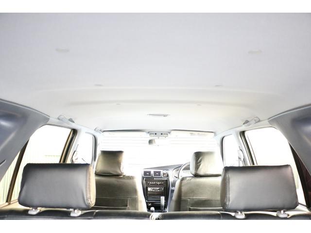 SSR-X ワイド リフトアップ 新品クリスタルヘッドライト 新品ウインカー 新品TOYOTAグリル マッドブラックペイントホイール 新品タイヤ 外装ポリマーコーティング施工 足廻り油性シャーシコート 西日本仕入(25枚目)