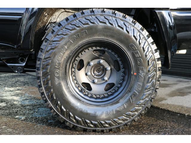SSR-X ワイド リフトアップ 新品クリスタルヘッドライト 新品ウインカー 新品TOYOTAグリル マッドブラックペイントホイール 新品タイヤ 外装ポリマーコーティング施工 足廻り油性シャーシコート 西日本仕入(43枚目)