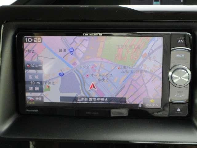 ハイブリッドX メモリーナビ バックカメラ 左側電動スライドドア ETC スマートキー 15インチアルミ LEDヘッドライト 3列シート 7人乗り ABS エアバッグ(9枚目)