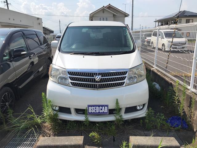 「トヨタ」「アルファードG」「ミニバン・ワンボックス」「福島県」の中古車2