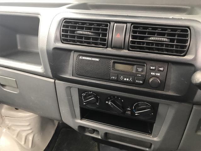 4WD 5速マニュアル 軽トラック 2名乗り ホワイト(11枚目)