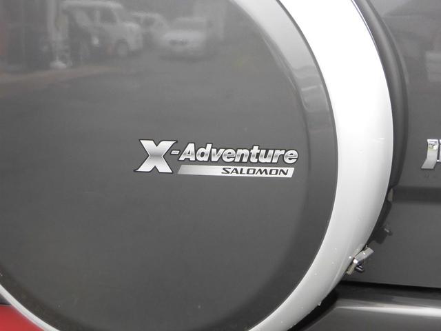 クロスアドベンチャーXC サロモン 4WD 5MT リフトアップ ABS ナビ フルセグTV Bluetooth接続 CD DVD ETC ルーフキャリア インタークーラーターボ パートタイム4WD高低二段切替式(31枚目)