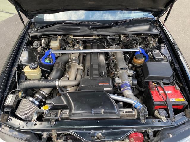 ツアラーV ツアラーV 純正5速 前置きIC TEIN車高調 APEXERAマフラー MANARAY18インチアルミ 社外ブースト計 ターボタイマー Msportsフルエアロ ETC ナルディステア(11枚目)