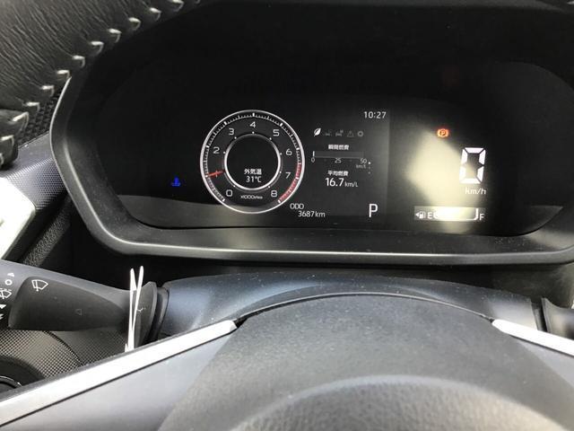 マルチインフォメーションディスプレイとなっており、4個のデザインから気分に合わせて選ぶことができます。4WDの作動状況も確認できますよ。
