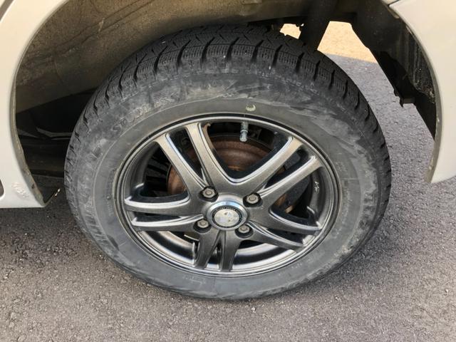 L 4WD 純正CDオーディオ シートヒーター 社外アルミホイール 両側スライドドア スマートキー(18枚目)