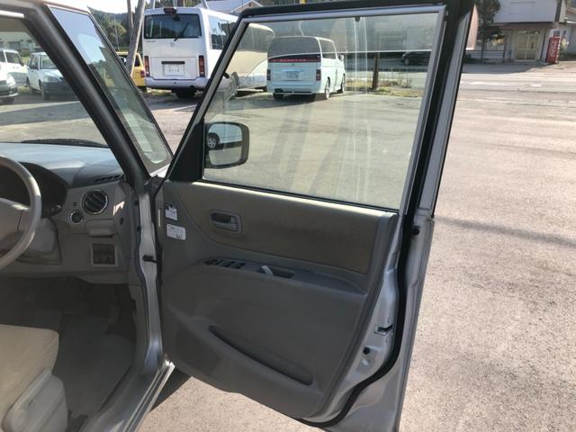 L 4WD 純正CDオーディオ シートヒーター 社外アルミホイール 両側スライドドア スマートキー(19枚目)