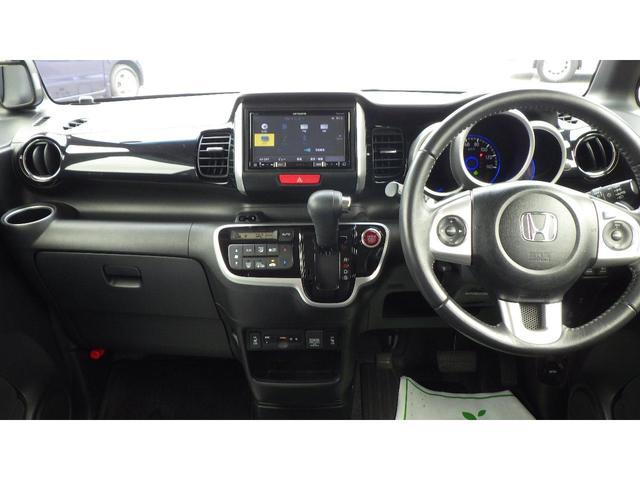 G・ターボLパッケージ 4WD ナビ フルセグ CD/DVD再生 バックカメラ クルーズコントロール 両側電動スライドドア HIDヘッドライト シートヒーター 15インチ純正アルミホイール ETC スマートキー(14枚目)