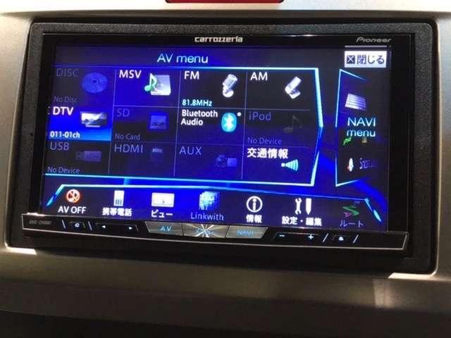 ジャストセレクション カロッツェリア製HDDナビ/Rカメラ/両側PSD(9枚目)