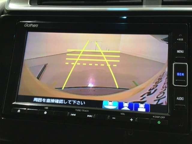 13G・Fコンフォートエディション 純正メモリーインターナビ バックカメラ(10枚目)
