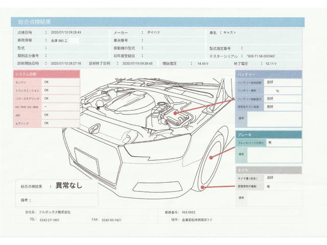アクティバX SAII 4WD スマートアシスト 純正ナビ ETC プッシュスタート スマートキー(34枚目)