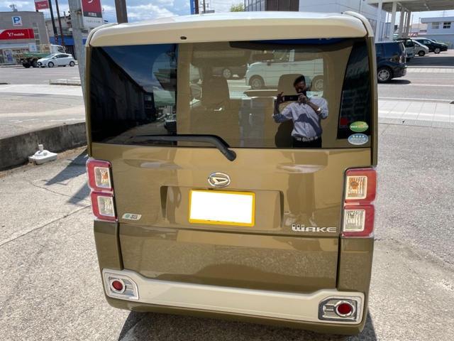 G SA ターボ 社外ナビ/TV 4WD アイドリングストップ オートライト 純正アルミ バックカメラ フロントカメラ シートシーター 両側パワースライドドア 横滑り防止 HID(3枚目)