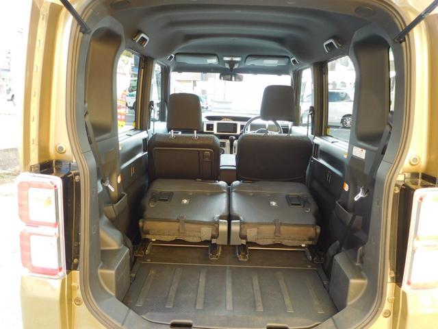 G SA ターボ 社外ナビ/TV 4WD アイドリングストップ オートライト 純正アルミ バックカメラ フロントカメラ シートシーター 両側パワースライドドア 横滑り防止 HID(10枚目)