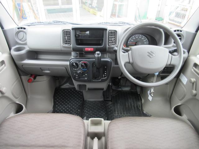 PA パートタイム4WD エアコン パワステ ライトレベライザー AMFMラジオ ABS(6枚目)