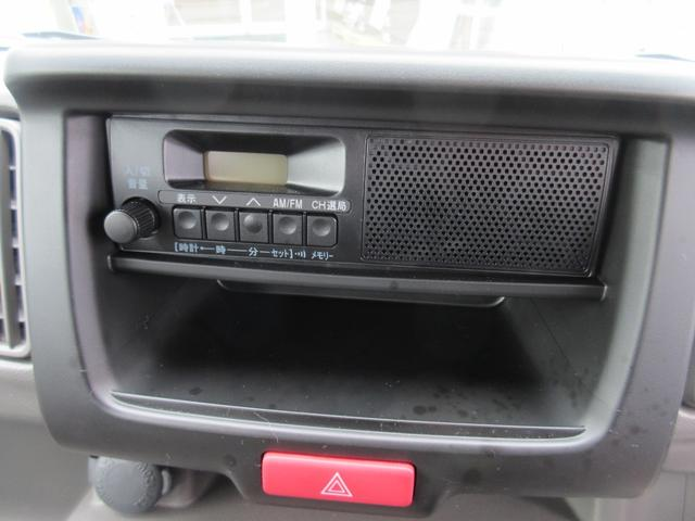 PA パートタイム4WD エアコン パワステ ライトレベライザー AMFMラジオ ABS(7枚目)