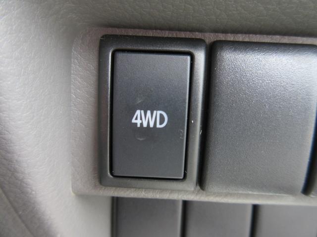 PA パートタイム4WD エアコン パワステ ライトレベライザー AMFMラジオ ABS(14枚目)