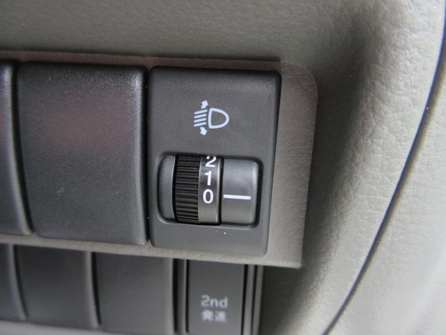 PA パートタイム4WD エアコン パワステ ライトレベライザー AMFMラジオ ABS(15枚目)