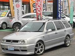 VW ゴルフワゴンエクスクルーシブライン 革 フルエアロ マフラー