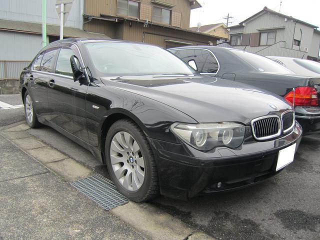 BMW 735i ブラックレザー サンルーフ
