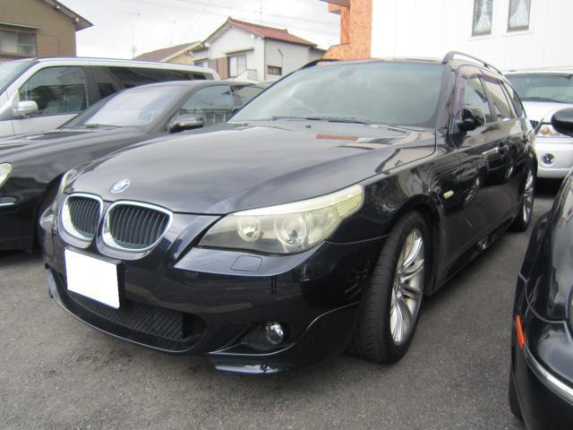 BMW 525iツーリング ブラックハーフレザーS 18AW