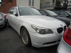 BMW525iツーリング 社外アルミ ブラックレザー
