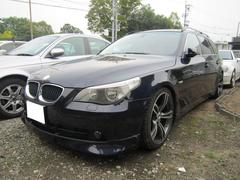 BMW525iツーリング 社外エアロ 19AW