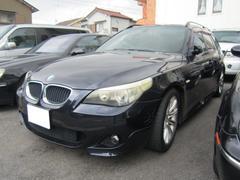 BMW525iツーリング ブラックハーフレザーS 18AW