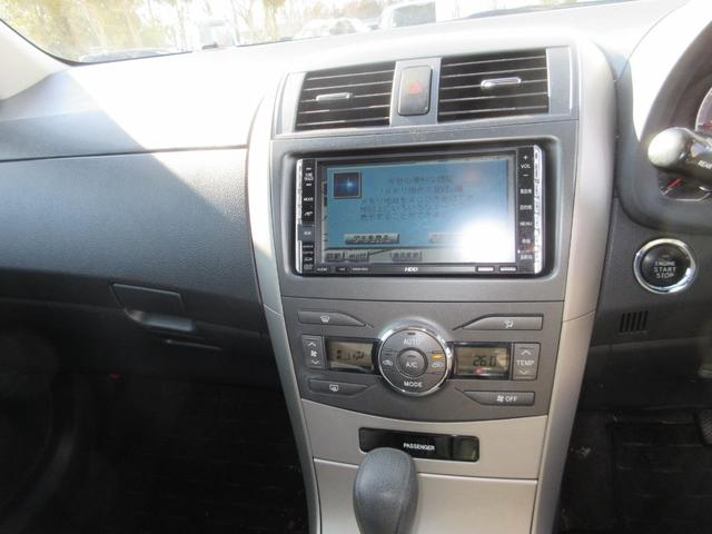 トヨタ カローラフィールダー 1.5X Gエディション・ナビ・キーレス・プッシュスタート