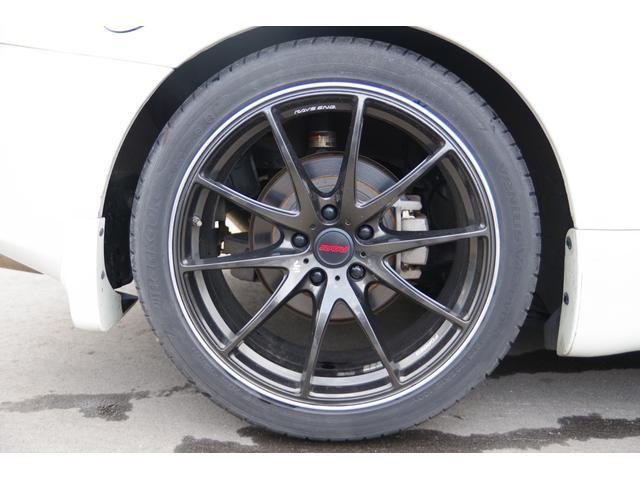 純正6速 ブリッツ車高調レイズ19インチAWフジツボマフラー(20枚目)