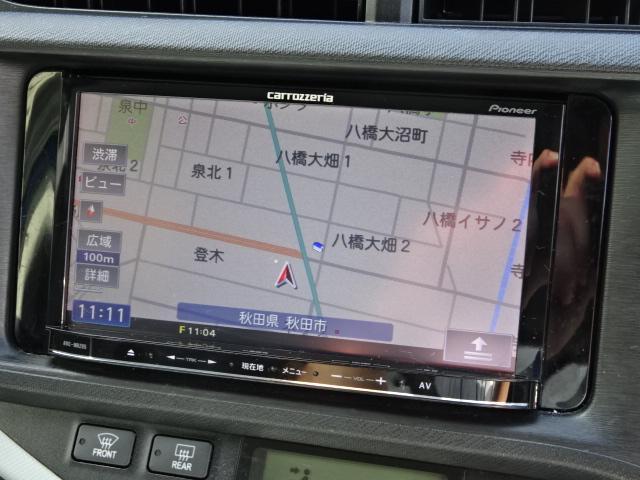 トヨタ アクア S 社外ナビ ワンセグ バックカメラ ETC スマートキー