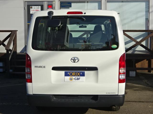 トヨタ ハイエースバン ロングDX 4WD ターボ ナビ ETC AUXUSB接続可