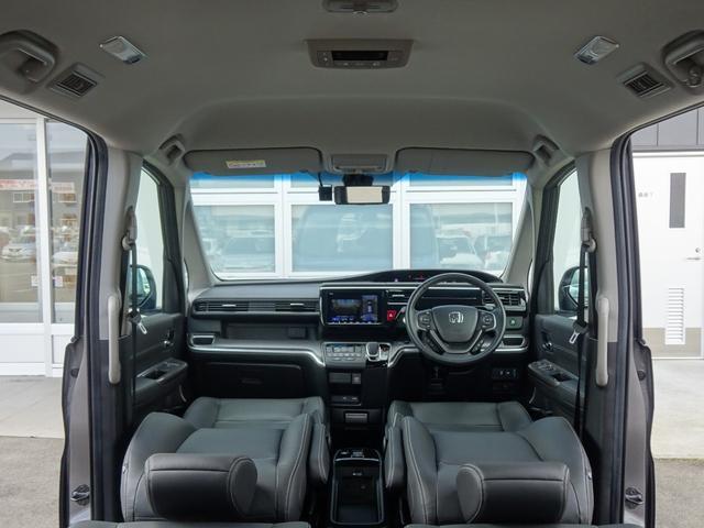スパーダハイブリッド G・EX ホンダセンシング 純正ナビ フルセグ 全方位モニター パークアシスト ETC LEDライト Bluetooth USB シートヒーター 両側電動スライドドア プッシュスタート トラクションコントロール(48枚目)
