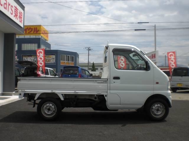 スズキ キャリイトラック 切り替え式4WD エアコン パワステ Tチェーン 安心保障付